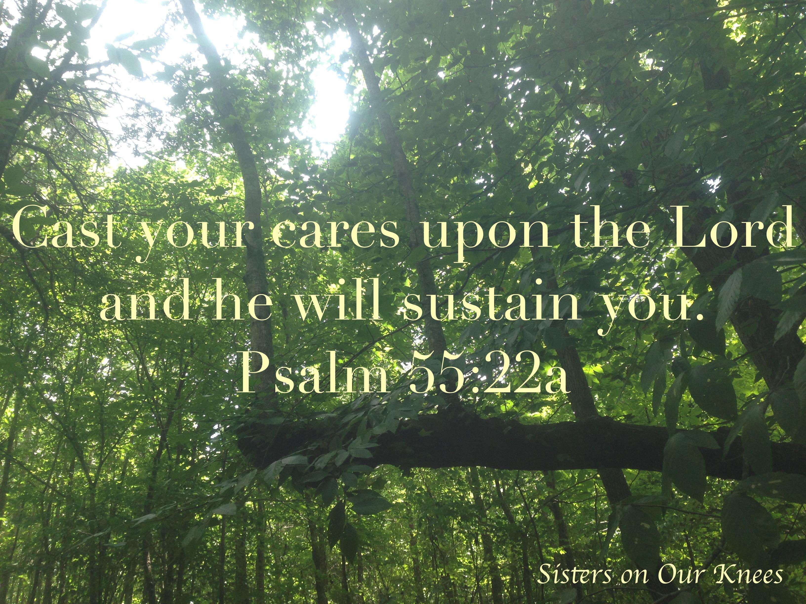 Psalm 55:22a