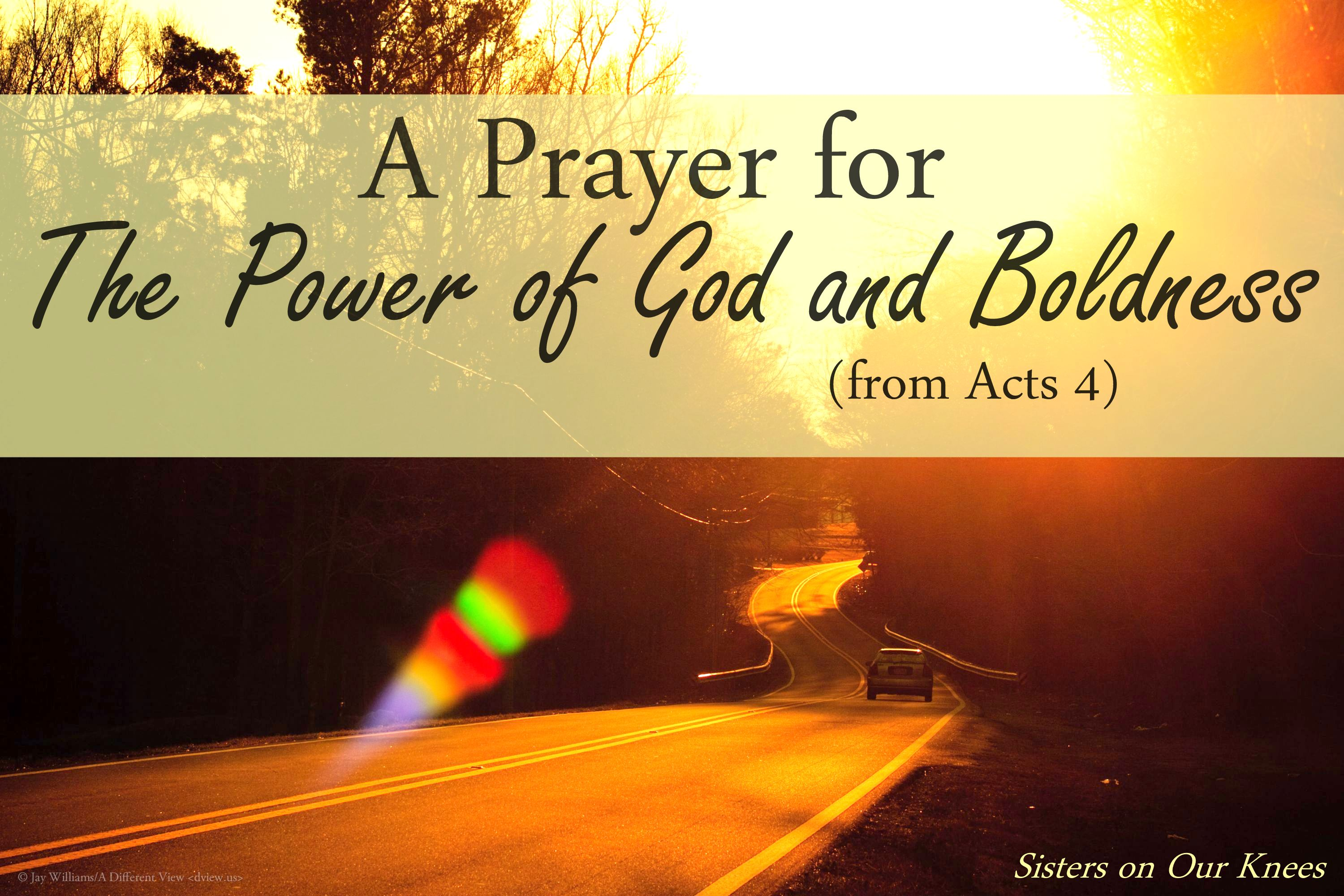 Sisters On Our Knees – Rejoicing In Hope Persevering In